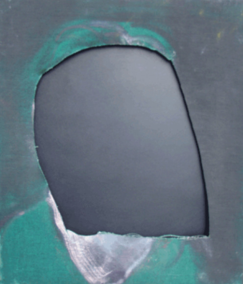 "Francis Bacon ""Untitled Cut Study of a Head (Isabel Rawsthorne?)"" c. 1967 Oil on canvas"