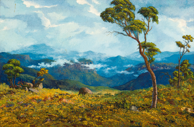 Ernest Benjamin King, 'Lowveld', Painting, Oil on board, Strauss & Co