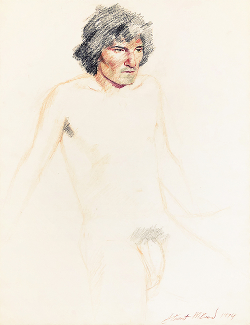 Mark Beard, 'Untitled (Nude Man with Black Hair)', 1974, ClampArt