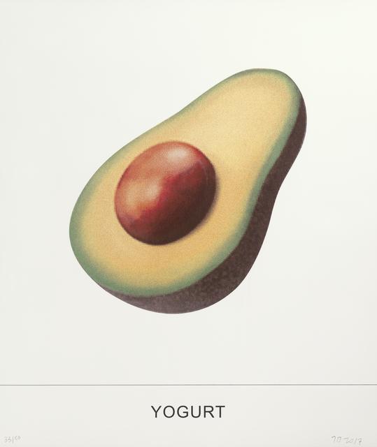 John Baldessari, 'Yogurt', 2018, Print, 8-color screenprint, Gemini G.E.L. at Joni Moisant Weyl