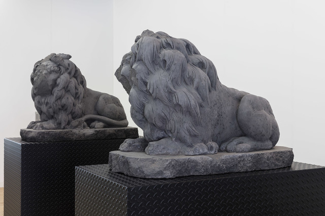 , 'Chariots Right Lion I & Chariots Left Lion I,' 2017, Art Night London