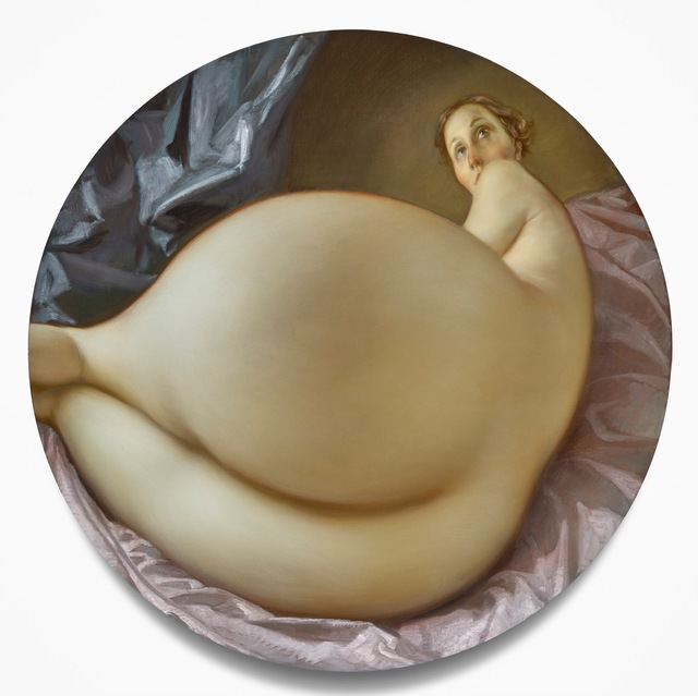 , 'Nude in a Convex Mirror,' 2015, Gagosian