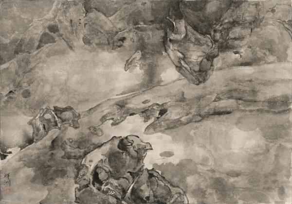 , 'Battle of Bulls 排空斗牛,' 2016, Ink Studio