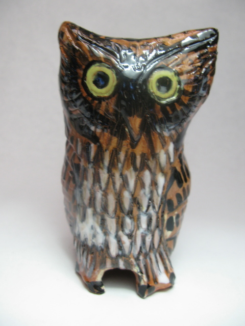 , 'Terracotta Owl I,' 2017, Rebecca Hossack Art Gallery