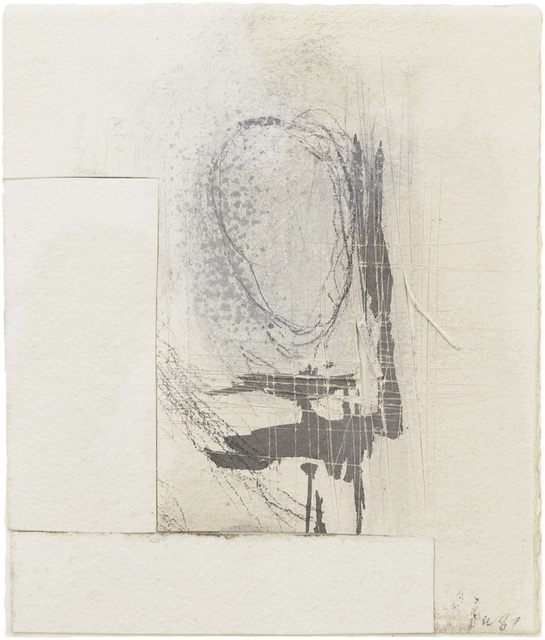 , 'Twelve  Drawings from the 44th Year, No. 3 (Portrait of a Memory),' 1987, Betty Cuningham