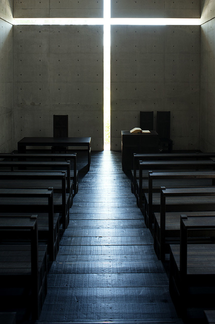 , 'Church of the Light (color 1500 B),' taken in 1989-printed in 2019, Akio Nagasawa Gallery