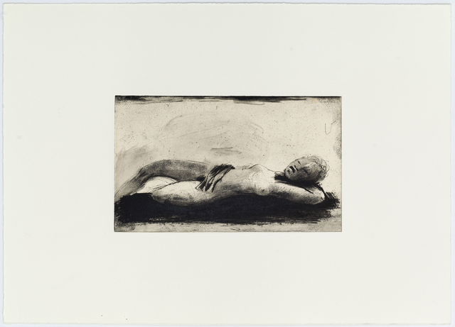 Deborah Bell, 'Limits of our longing', 2017, Print, Drypoint and softground on gamphi attahed to  hahnemuhle, David Krut Projects