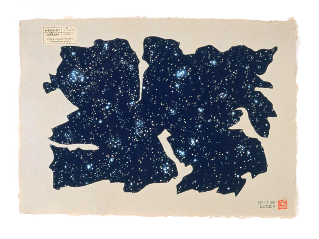 , 'Memory/Dream: (with stellar locations) #1.2,' 2001, Estrada Fine Art