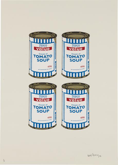 Banksy, 'Soup Cans Quad (Cream paper)', 2006, Phillips