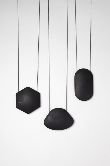 , 'Backflips & Summersaults - Black Pendants,' 2016, Galerie Beyond