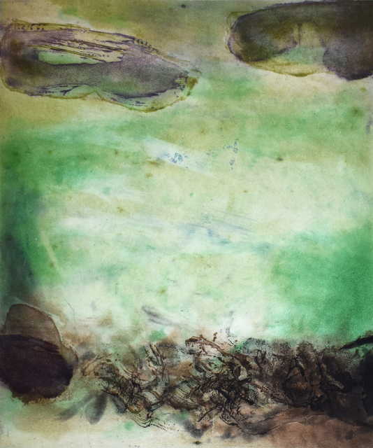 Zao Wou-Ki 趙無極, 'Composition VIII, from: Canto Pisan', 1972, Gilden's Art Gallery