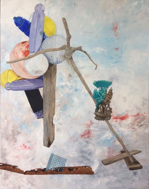 , 'Totem 02,' 2017, Pierre-Yves Caër Gallery