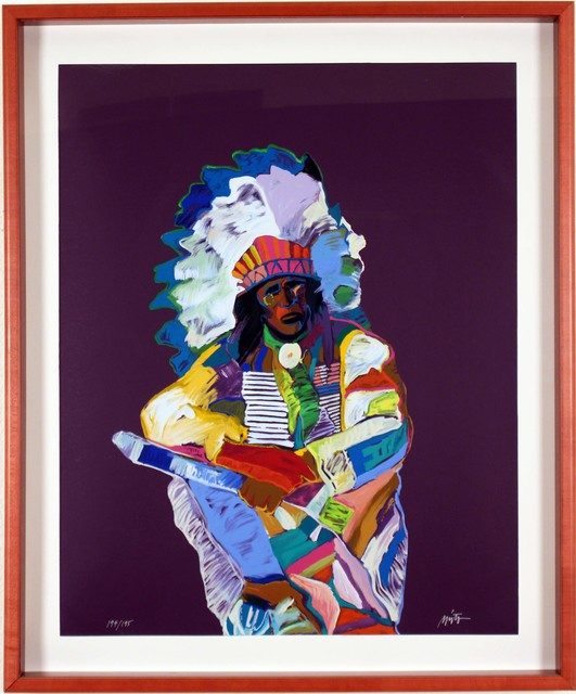 John Nieto, 'Chief ', 1992, Zane Bennett Contemporary Art