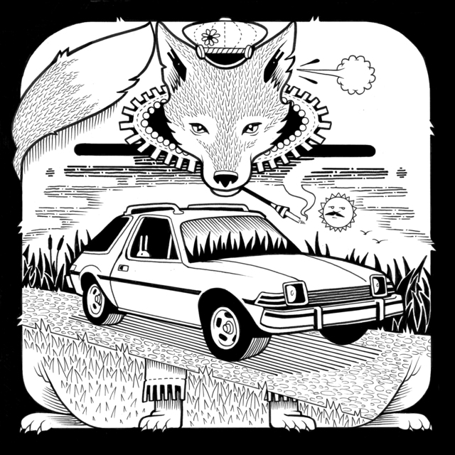 , 'AMC Pacer Fox,' 2017, Jonathan LeVine Projects