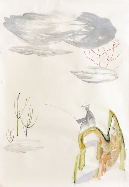 Youjin Yi, 'Angeln', 2014, Galerie Britta von Rettberg
