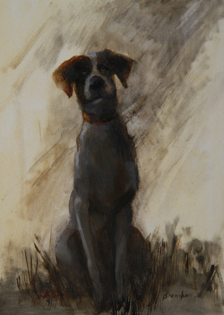 Linda Tracey Brandon, 'Puppy Left Out in the Rain', 2015, Abend Gallery