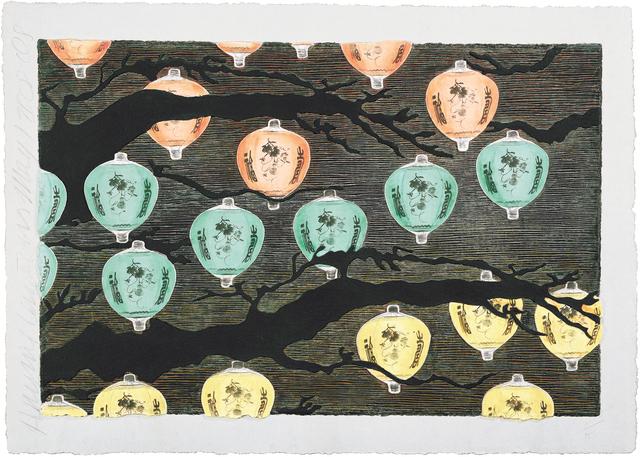 , 'Hanging Lanterns,' 2008, Mixografia