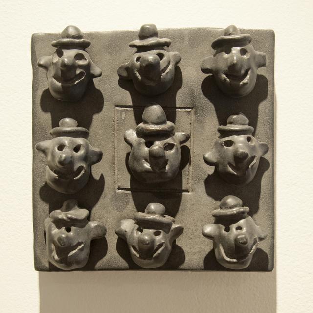 , 'Clowns (tile),' 2010, Main Street Arts
