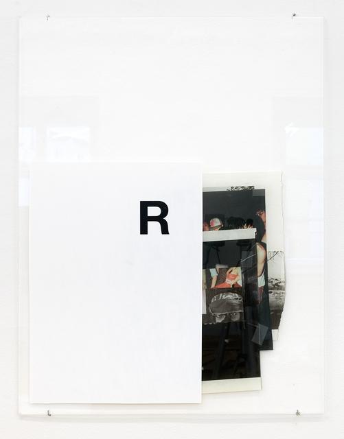 , 'R,' 2017, Galerie nächst St. Stephan Rosemarie Schwarzwälder