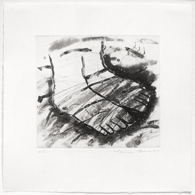 Louisa Chase, 'Untitled', 1984, Goya Contemporary/Goya-Girl Press