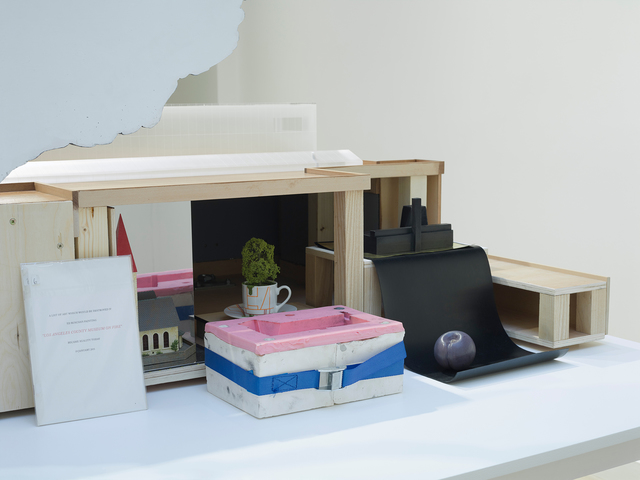 Nathan Coley, 'Tate Modern on Fire', 2017, Sculpture, Stained timber, Perspex and mixed media, Parafin
