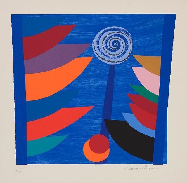 , 'Orange and Blue Q Newlyn ,' 1997, The Missing Plinth