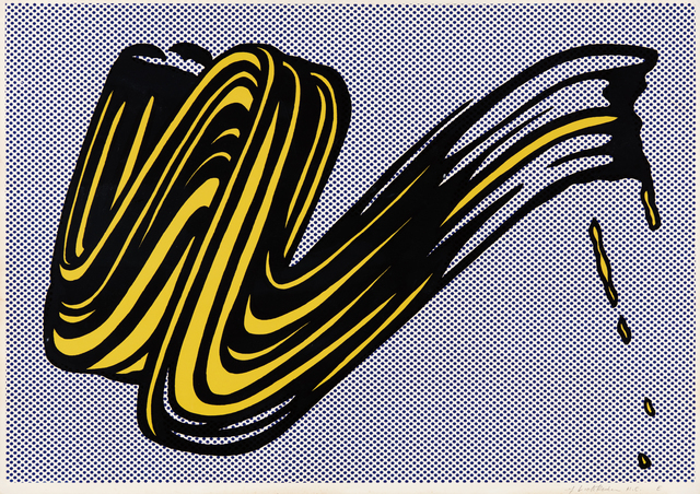 Roy Lichtenstein, 'Brushstroke', 1965, Phillips