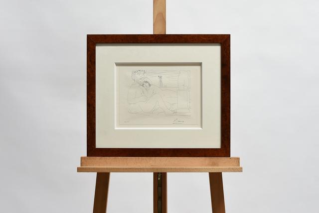 Pablo Picasso, 'Le repous du sculpteur devant le petit torse', 1956, Print, Lithograph on paper, Artrust