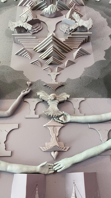Meredith Dittmar, 'Untying the Knots', 2020, Sculpture, Polymeric clay, MAIA Contemporary