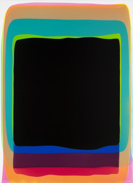 , 'black gate,' 2017, Wasserman Projects