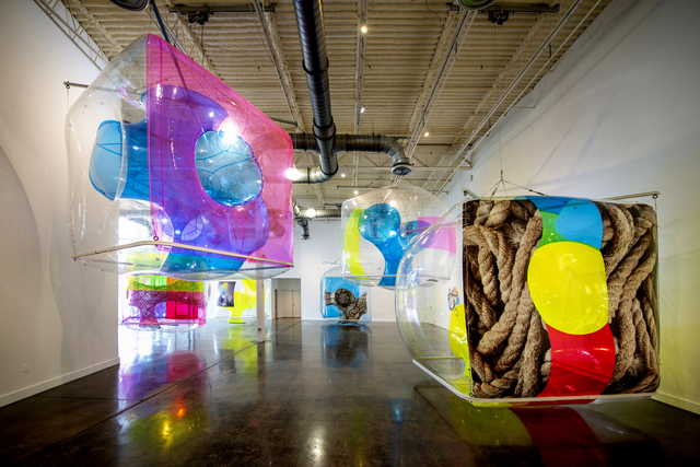, 'Synthetic Cells exhibition, installation view,' 2017-18, Grounds For Sculpture