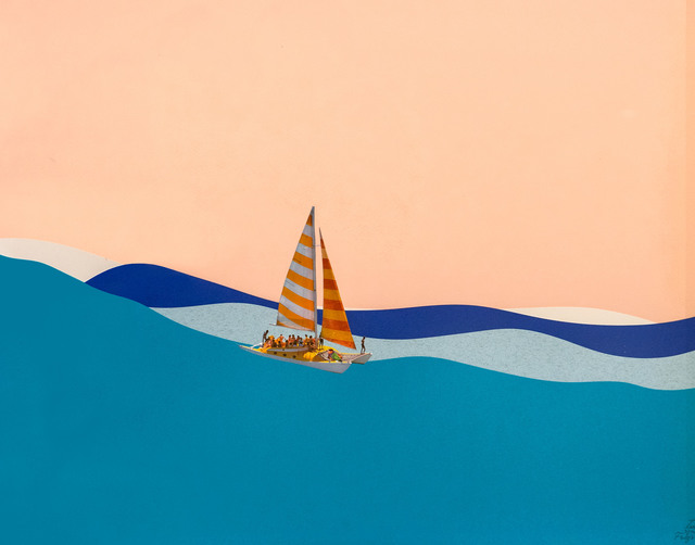 , 'Catamaran,' 2019, Subliminal Projects