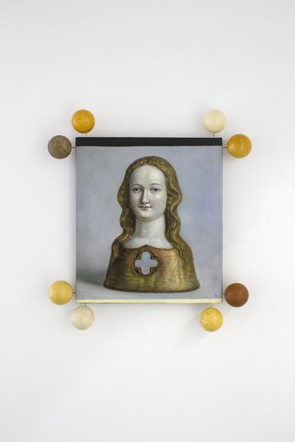 , 'Reliquary of Saint Ursula,' 2017, Peana Projects