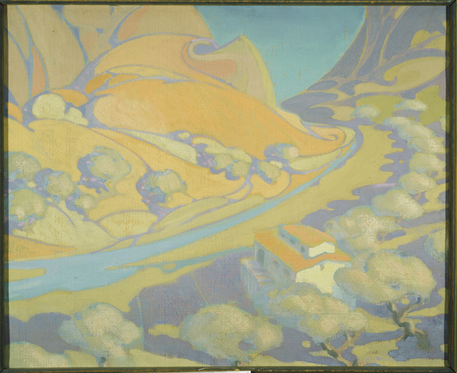 Homer E. Ellertson, 'The Ebro - Aragon', ca. 1925, Painting, Oil on Canvas, Phillips Collection