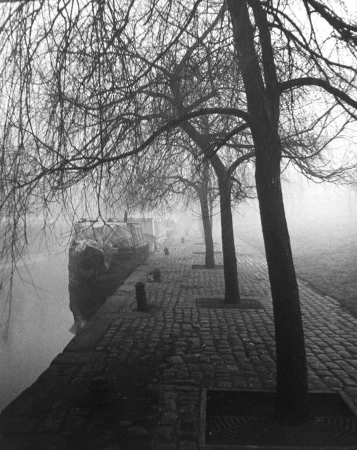 , 'London, Little Venice, Regent's Canal,' 1938, Peter Fetterman Gallery
