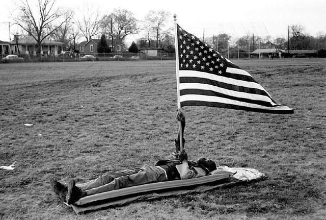 , 'Boy on the Ground with Flag,' 1965, Jackson Fine Art
