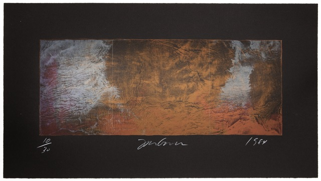, 'Forest Fire Lithograph 364C,' 1984, KOKI ARTS