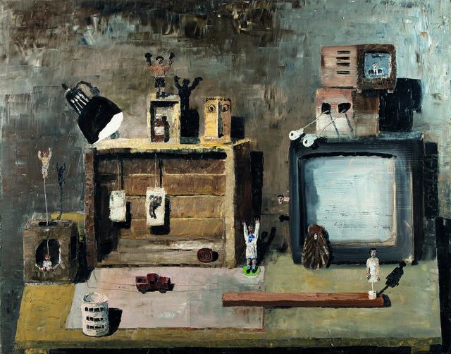 , 'Otra instalación,' 1999, Lyle O. Reitzel