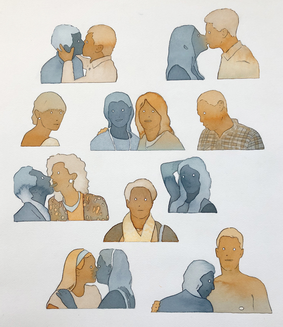 Dan Gluibizzi, 'friends from...', 2018, Russo Lee Gallery