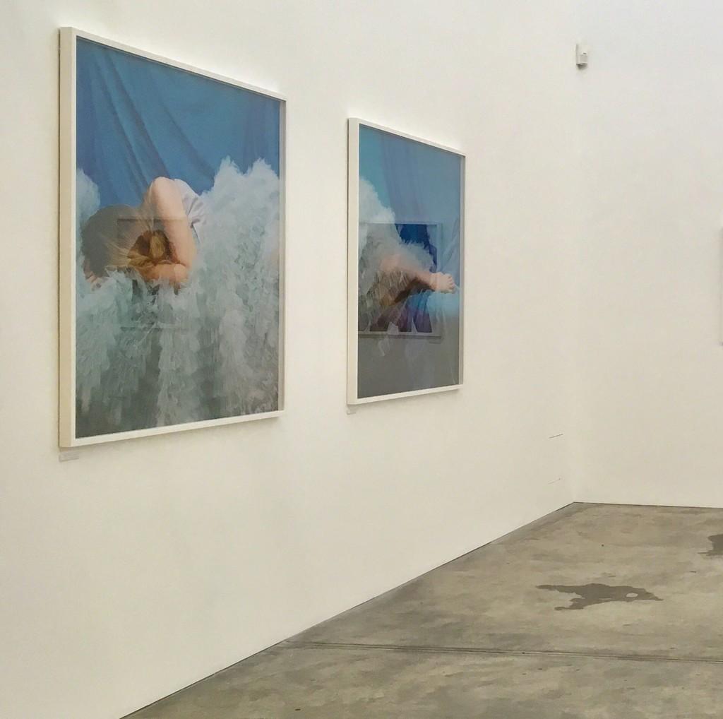 Installation view of Deborah Paauwe's 'Summer of '83' series, 2018