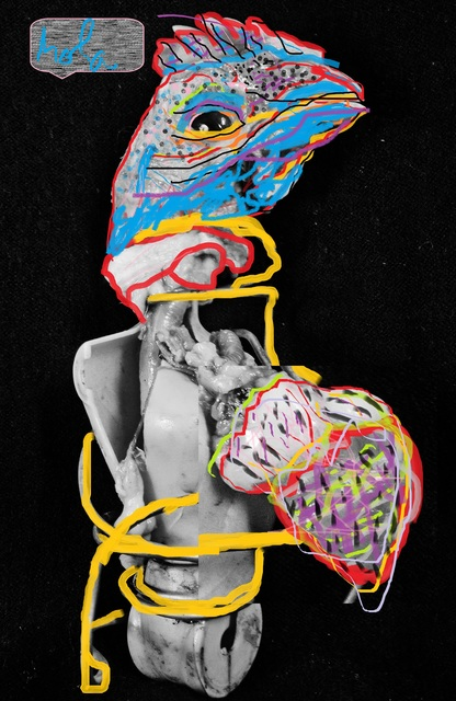 , 'Dorazon d Pollo 2,' 2015, IFAC Arts