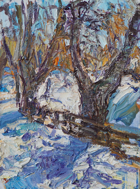 , 'Small Winter Scene,' , Gallery 1261