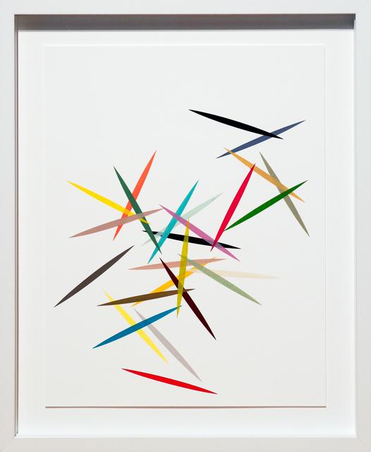 , 'Dart #10,' 2015, Newzones