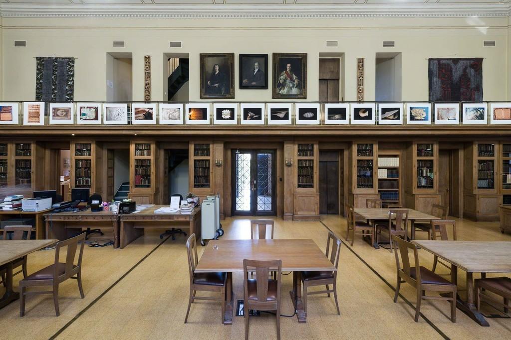 Photography Installation by Seydou Camara at The Gennadius Library.