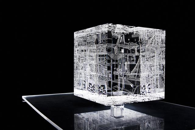 , 'Drop,' 2012, Galería del Paseo