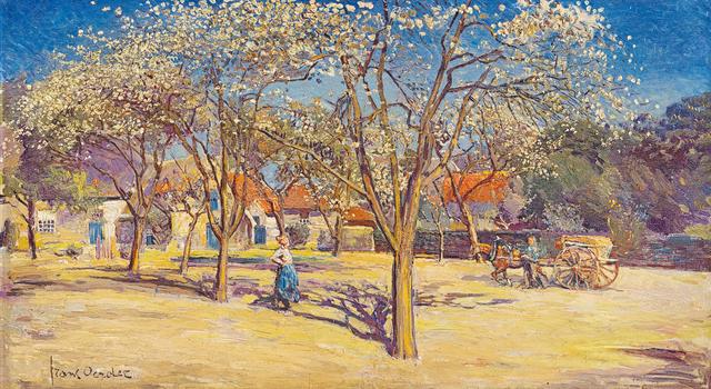 Frans Oerder, 'Farm Scene', Strauss & Co