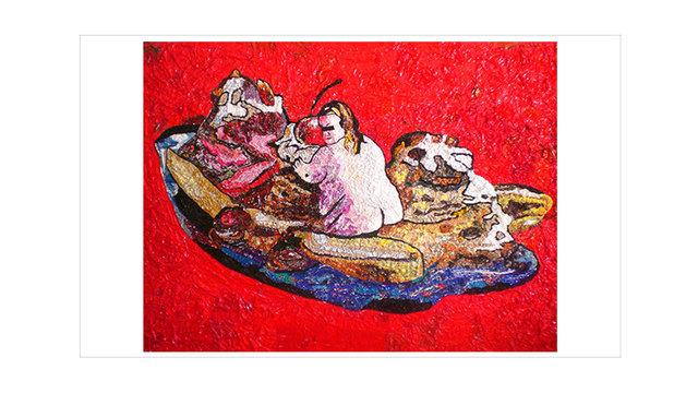 , 'Won't Split,' 2012, Disruptive Canvas