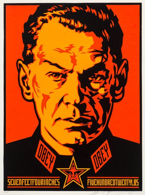 Shepard Fairey (OBEY), 'Authoritarian', 2000, Heritage Auctions