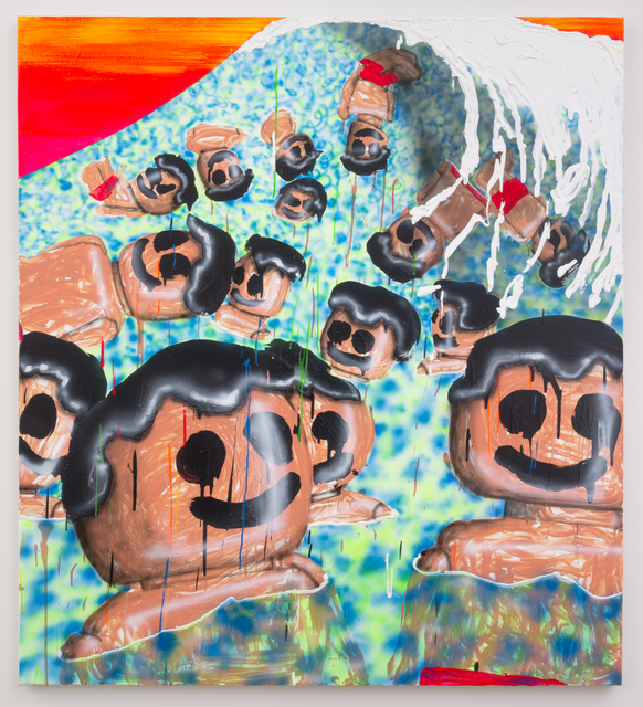 , 'Lego Tsunami,' 2015, Castor Gallery