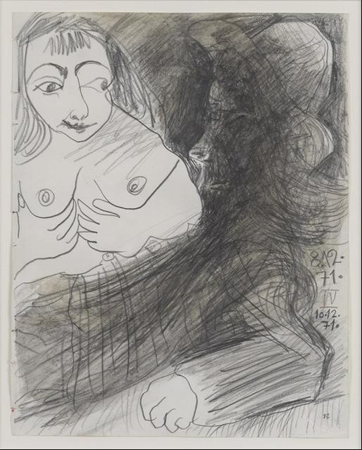 , 'Vieil Homme et Buste de Femme,' 1971, Rosenfeld Gallery